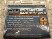 REESE 743099 INTERCHANGEABLE HITCH BALL SYSTEM **BRAND NEW**